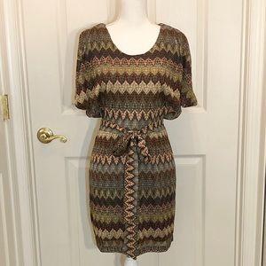 Ark & Co Flame Stitch Dress